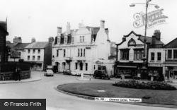 Pontypool, Clarence Corner c.1965