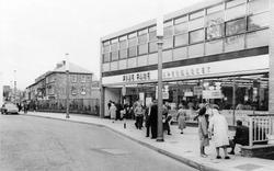 Pontypool, Commercial Street c.1965