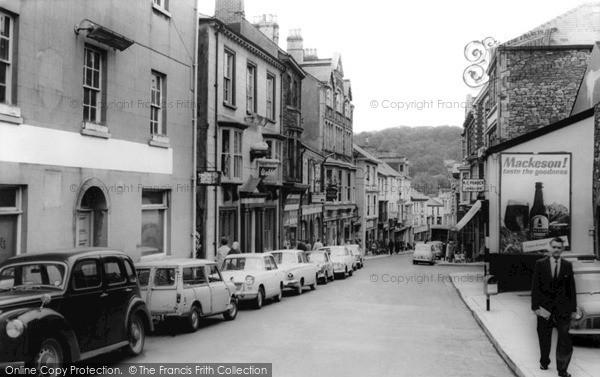 Photo of Pontypool, Crane Street c.1965