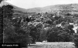 Pontypool, General View c.1955