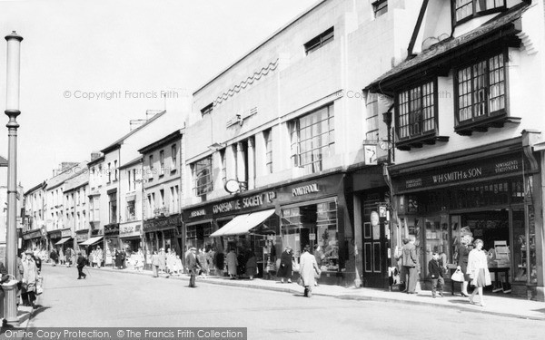 Pontypool, Hanbury Road c1960