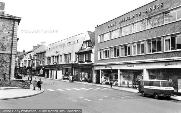 Photo of Pontypool, Hanbury Road c.1960