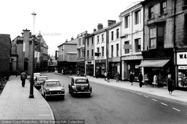 Pontypool, Main Street c1960