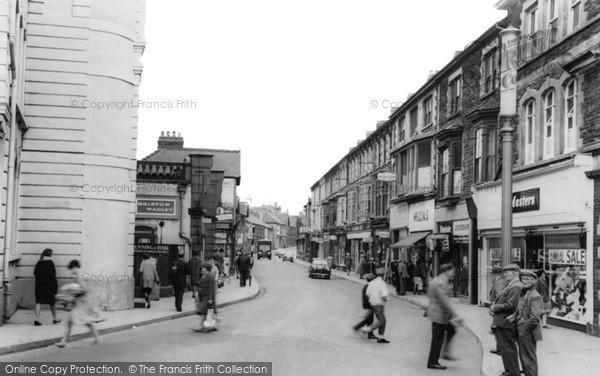 Photo of Pontypool, Osborne Road c.1965