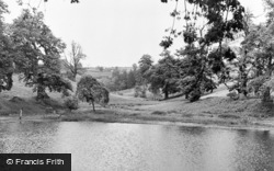 Pontypool, Park, The Lake c.1955
