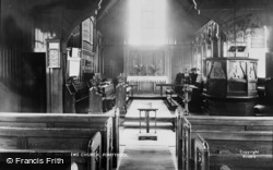 Pontypool, St Matthew's Church Interior c.1960