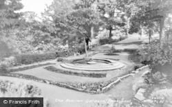 Pontypool, The Italian Gardens c.1960