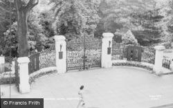 Pontypool, The Memorial Gates c.1960