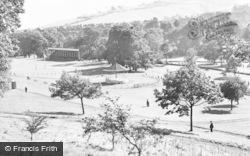 Pontypool, The Park c.1955