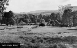 Pontypool, The Park c.1955