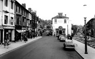 Pontypool, the Square c1960