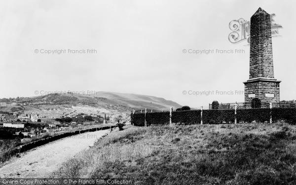 Photo of Pontypridd, Common, the Memorial c1960