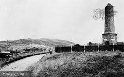 Pontypridd, Common, The Memorial c.1960