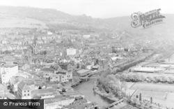 Pontypridd, General View c.1955