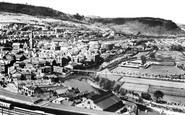 Pontypridd, from the Graig c1925
