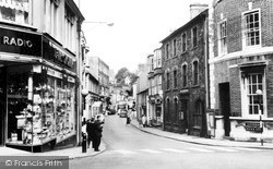 Pontypridd, Mill Street c.1955