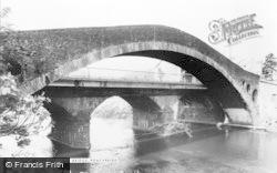 Pontypridd, Old Bridge c.1960
