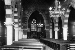 Pontypridd, Parish Church Interior 1899