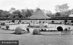 Pontypridd, Sunken Gardens, Ynysangharad Park c.1960