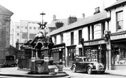 Pontypridd, the Fountain c1955