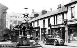 Pontypridd, The Fountain c.1955