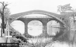 Pontypridd, The Old Bridge c.1955
