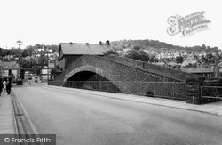 Pontypridd, The Old Bridge c.1965