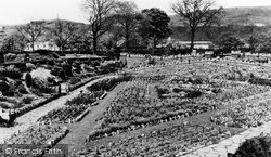 Pontypridd, The Park, Rest Gardens c.1950
