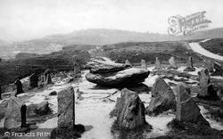 Pontypridd, The Rocking Stone 1899
