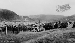 Pontypridd, Valley From Common c.1960