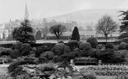 Pontypridd, Ynysangharad Park c1955