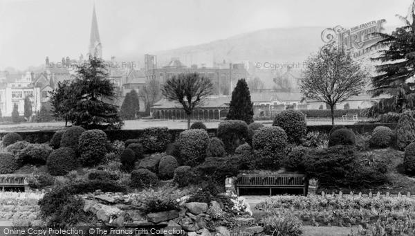 Photo of Pontypridd, Ynysangharad Park c1955