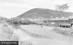 Pontywaun, The Canal c.1957
