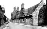 Poole, Church Street, Almshouses 1904