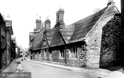 Poole, Church Street, St George's Almshouses 1904