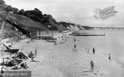 Poole, Flaghead Chine, Canford Cliffs c.1965