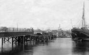 Poole, Hamworthy Bridge 1904