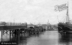 Poole, Hamworthy Bridge 1904