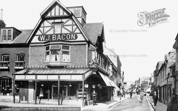 Poole, High Street 1900