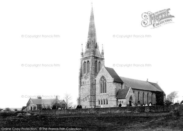 Poole, Longfleet Church and Schools 1887