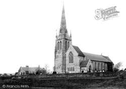 Poole, Longfleet Church And Schools 1887