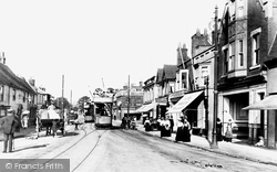 Poole, Longfleet Road 1904