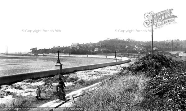 Photo of Poole, Lower Parkstone, Shore Road and Evening Hill 1904