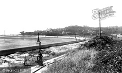 Poole, Lower Parkstone, Shore Road And Evening Hill 1904