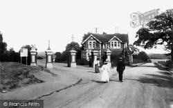 Poole, Park Entrance 1908