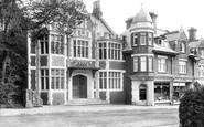 Poole, Parkstone, Church House 1904