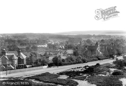 Poole, Parkstone From Constitution Hill 1904