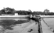 Poole, Parkstone-on-Sea From The Pier 1900