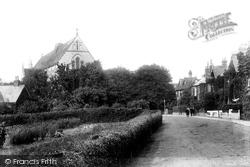 Poole, Parkstone, St Peter's Church 1904