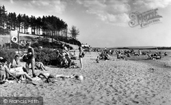 Poole, Rockley Sands, Rockley Point c.1965
